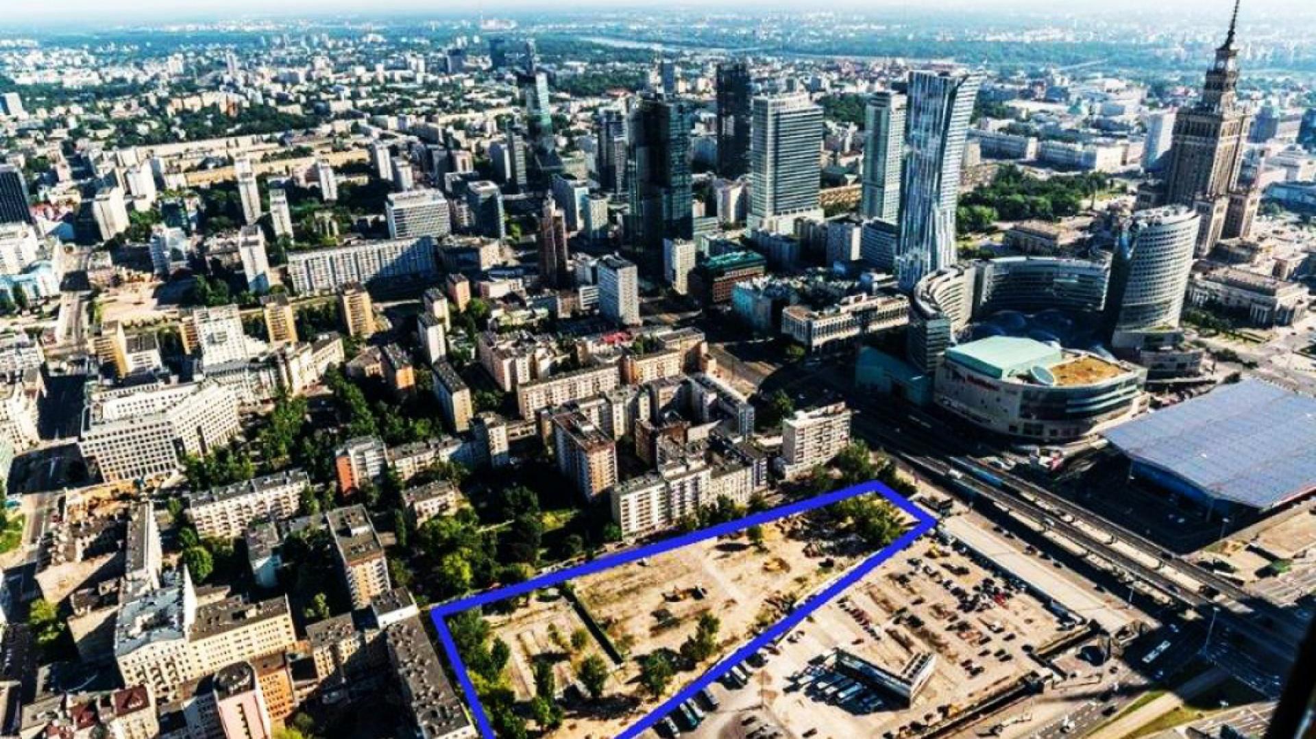 W tym miejscu powstanie nowa inwestycja słowackiego dewelopera, fot. facebook HBReavisPL