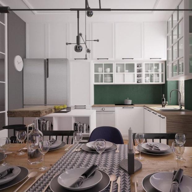 Kuchenne trendy w 2017 roku - na co zwrócić uwagę projektując kuchnię
