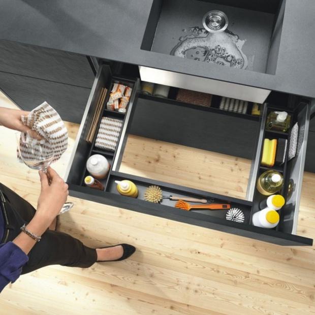 Przechowywanie w kuchni: praktyczne rozwiązania