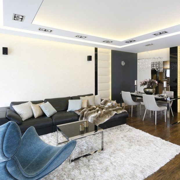 Luksusowy apartament - zobacz piękny projekt  z Gdańska