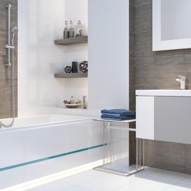 Baterie łazienkowe: propozycje w białym i czarnym kolorze