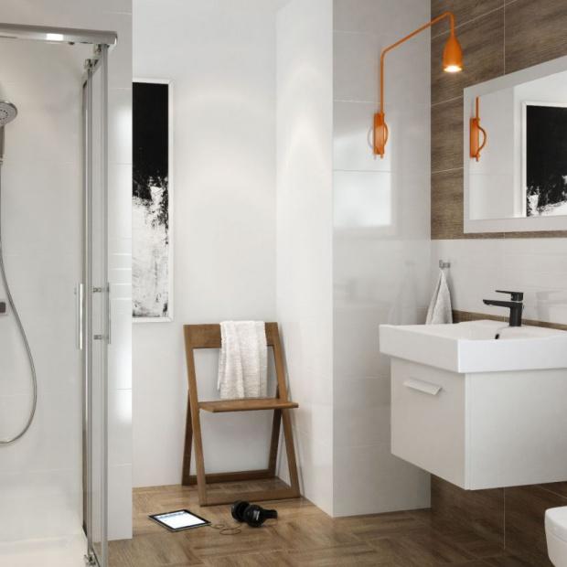 Białe i czarne baterie - najnowszy trend w łazience!