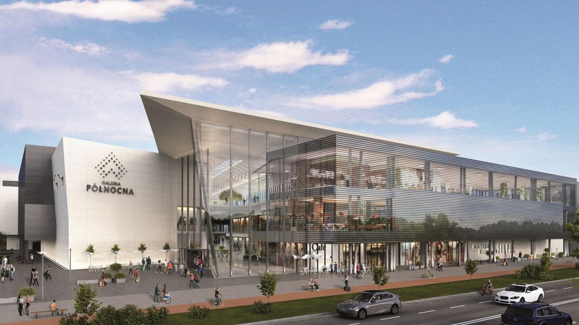 Galeria Północna, nowoczesne centrum handlowo-rozrywkowe ma nadać nową jakość warszawskiemu rynkowi handlowemu. Jest projektem tworzonym we współpracy z najlepszymi architektami z pracowni APA Wojciechowski i Moshe Tzur Architects.