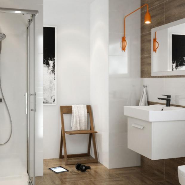 Urządzamy strefę prysznica: natynkowy zestaw natryskowy