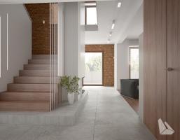 Hall / Schody Styl Nowoczesny