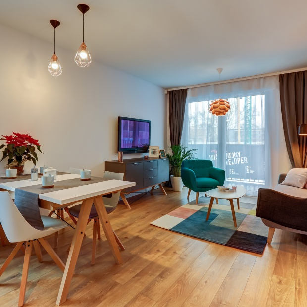 Trzypokojowe mieszkanie o powierzchni 53 m2
