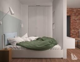 Sypialnia Styl Eklektyczny
