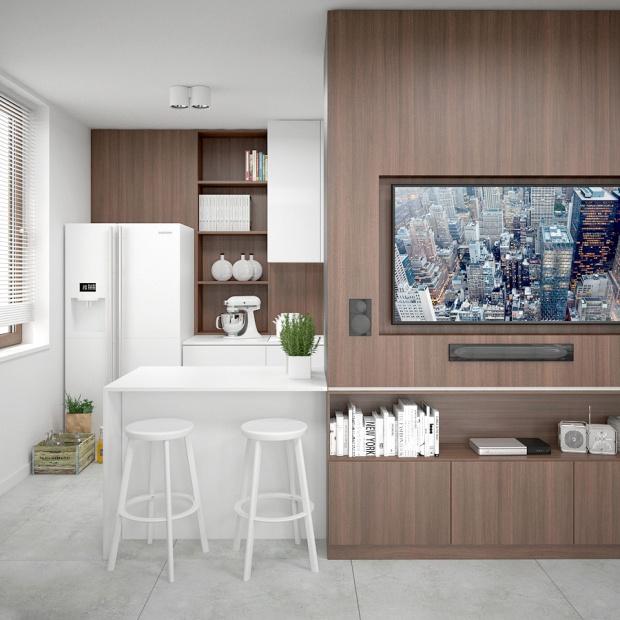 Projekt nowoczesnego mieszkania w Krakowie