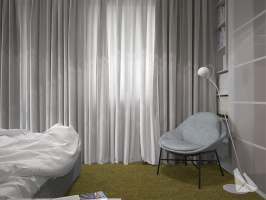 Sypialnia Styl Eklektyczny Więcej informacji na stronie www.dreamdesign.net.pl