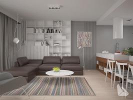 Salon Styl Eklektyczny Więcej informacji na stronie www.dreamdesign.net.pl