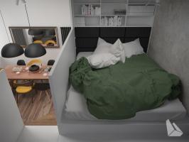 Sypialnia Styl Nowoczesny Więcej informacji na stronie www.dreamdesign.net.pl