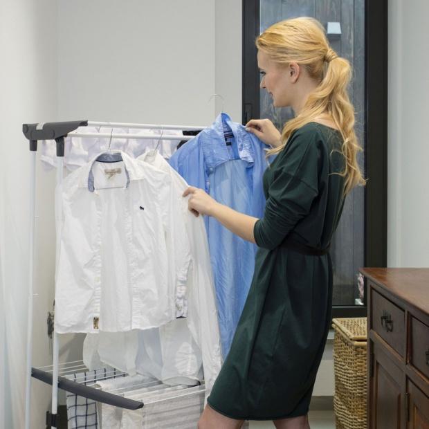 Małe mieszkanie – sposób na suszenie prania