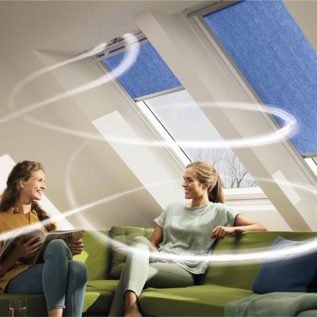 Okna dachowe: innowacyjna wentylacja z odzyskiem ciepła