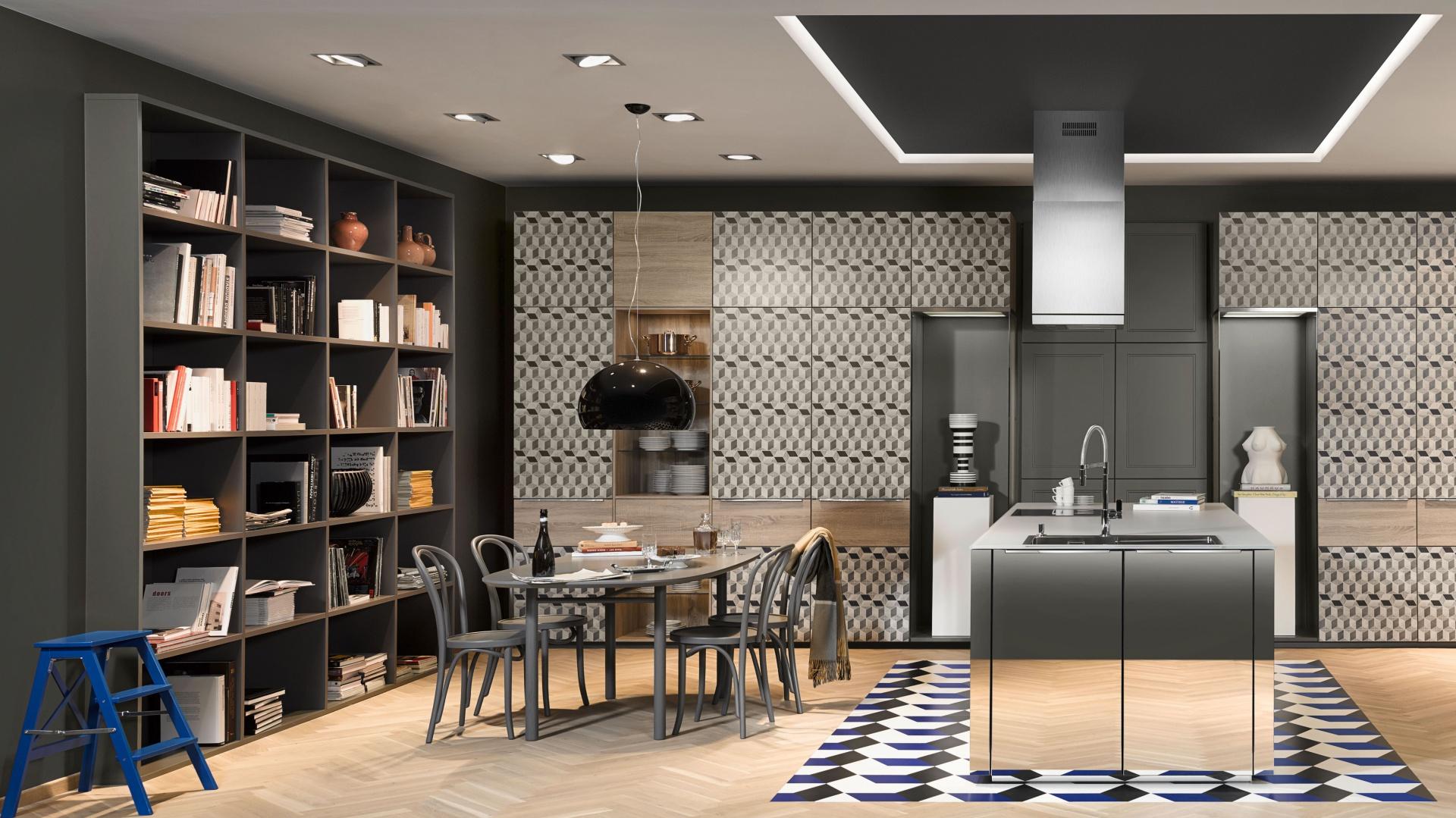 Kuchnia NEO LOFT stylizowana na pofabryczne wnętrze z lat 50., dzięki funkcjonalnym rozwiązaniom, podkreśla związek tradycji z nowoczesnością. Fot. Nolte Küchen