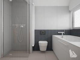 Łazienka Styl Nowoczesny. Więcej informacji na stronie www.dreamdesign.net.pl