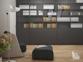 Gabinet Styl Nowoczesny. Więcej informacji na stronie www.dreamdesign.net.pl