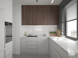 Kuchnia Styl Nowoczesny. Więcej informacji na stronie www.dreamdesign.net.pl