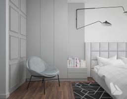 Sypialnia Styl Nowoczesny. Więcej informacji na stronie www.dreamdesign.net.pl