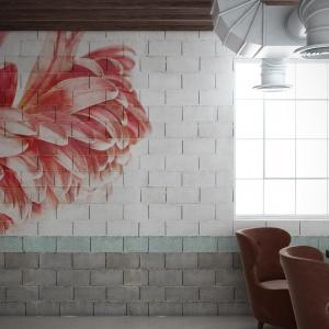 Kolekcja Macroflower - z wykorzystaniem  nawiązującego do estetyki ulicznej muralu (Chalk). Fot. Glamora