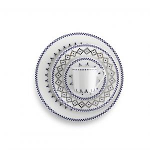 Kolekcja porcelany stołowej FOLK FUSION inspirowana bogactwem kulturowym Europy. Fot. Fabryka Porcelany Ćmielów