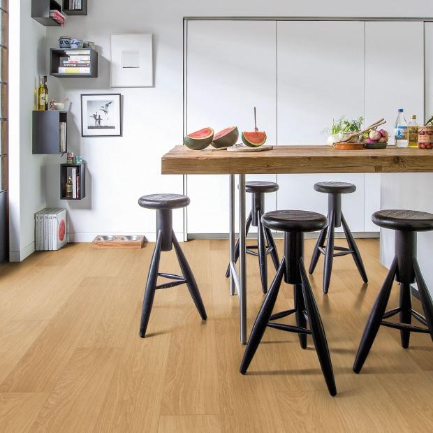 Panele jak drewno - na podłogi do łazienki i kuchni