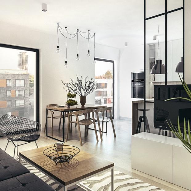 Mieszkanie w stylu loft w Krakowie