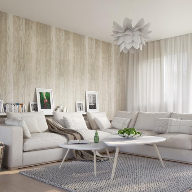 Metamorfoza salonu: ściana dekoracyjna inspirowana naturą
