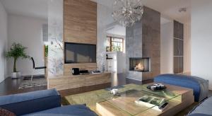Dom drewniany może być urządzony bardzo nowocześnie i stylowo. Doskonałym przykładem jest projekt budynku w technologii szkieletowej, który został zaprojektowany przez biuro architektoniczne Archetyp.