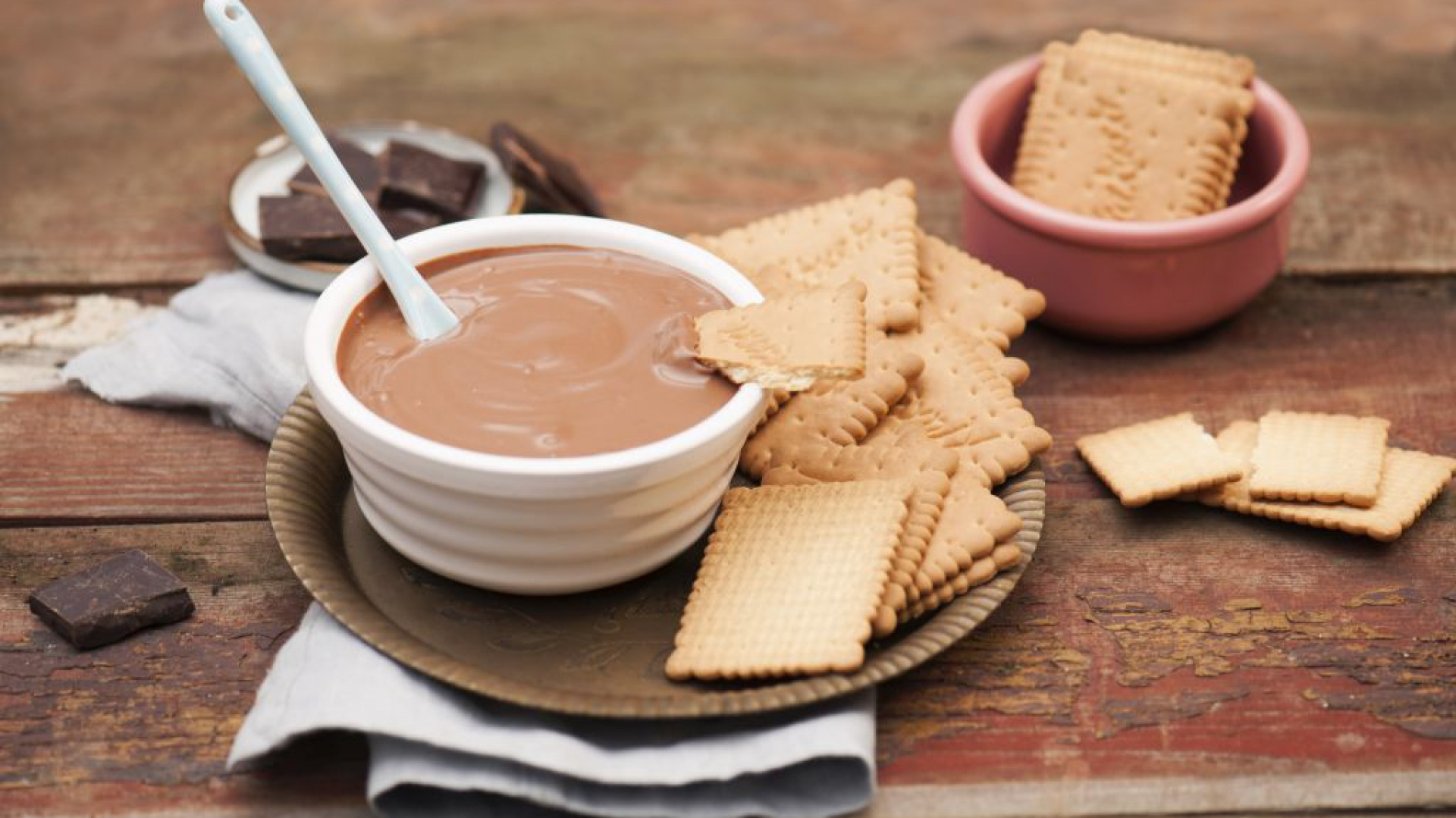 Czekoladowe fondue. Fot. Thermomix