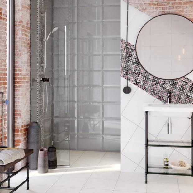 Modna łazienka: zobacz kolekcje płytek jak kafle