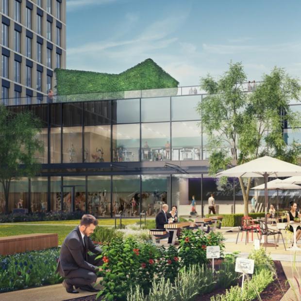 Budowa nowoczesnego biurowca w Krakowie przyspiesza