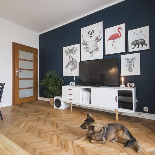 Salon w stylu skandynawskim - zobacz efekty pięknej metamorfozy