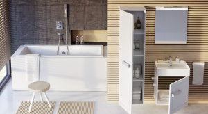 Aby codzienne rytuały kąpielowe były nie tylko chwilą relaksu i wytchnienia, ale przede wszystkim bezpiecznym i komfortowym zabiegiem higienicznym, przeznaczona do mycia strefa łazienki powinna być zaprojektowana zgodnie z najnowszymi trendami wzorn