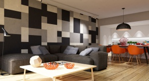 Ściany w mieszkaniu dają nieograniczone możliwości w zakresie dekoracji. Efektowne materiały mogą zmienić skromne wnętrze w elegancką, reprezentacyjną przestrzeń. Szukając modnych rozwiązań nie zapominajmy o funkcjonalnej stronie wnętrza.