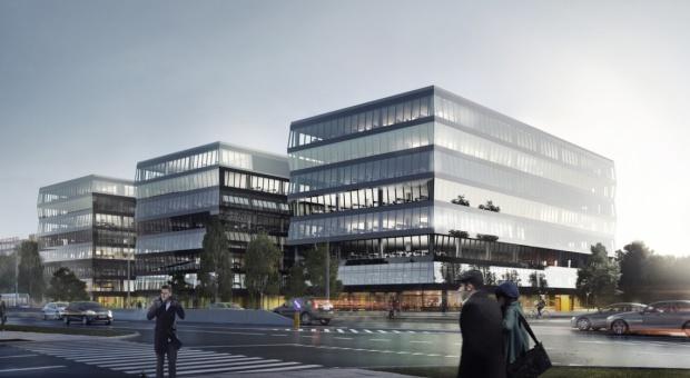 Nowy kompleks biurowy w Krakowie