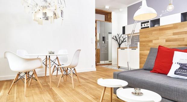 Mieszkanie w stylu skandynawskimpo metamorfozie