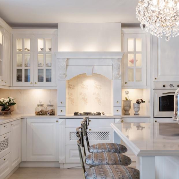 Sielska kuchnia - 10 pięknych projektów