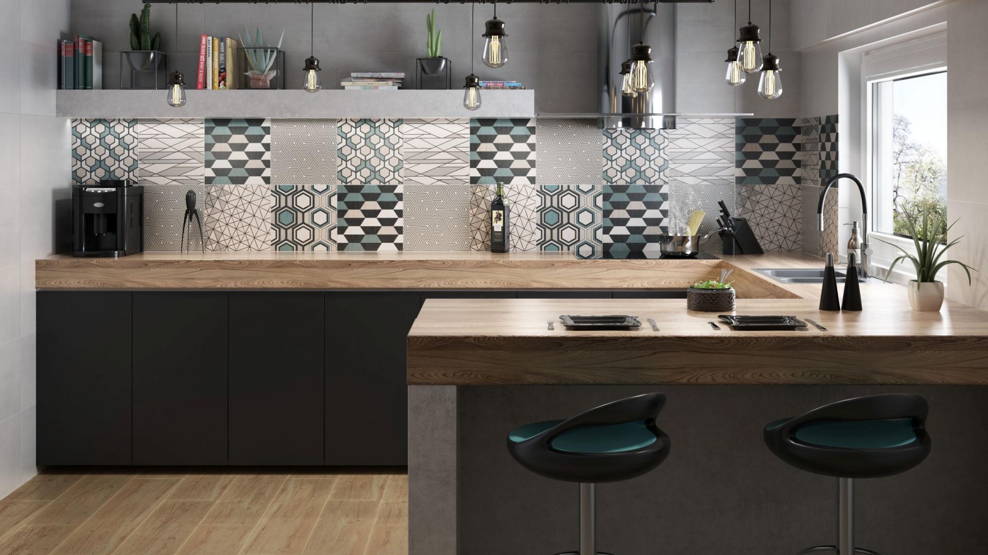 Płytki Z Geometrycznym Wzorem Nowość Do Kuchni I łazienki