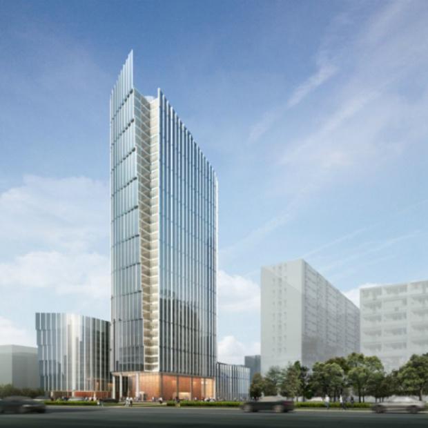 Unikalny projekt wieżowca Mennica Legacy Tower