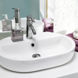 Aranżacja łazienki: pomysł na umywalkę. Fot. Cersanit