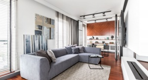 Kilka minut od centrum stolicy, w przyjaznej i bezpiecznej okolicy, zlokalizowany jest nowoczesny apartamentowiec Soho Factory. Na jego 11. piętrze mieści się niezwykłe wnętrze.