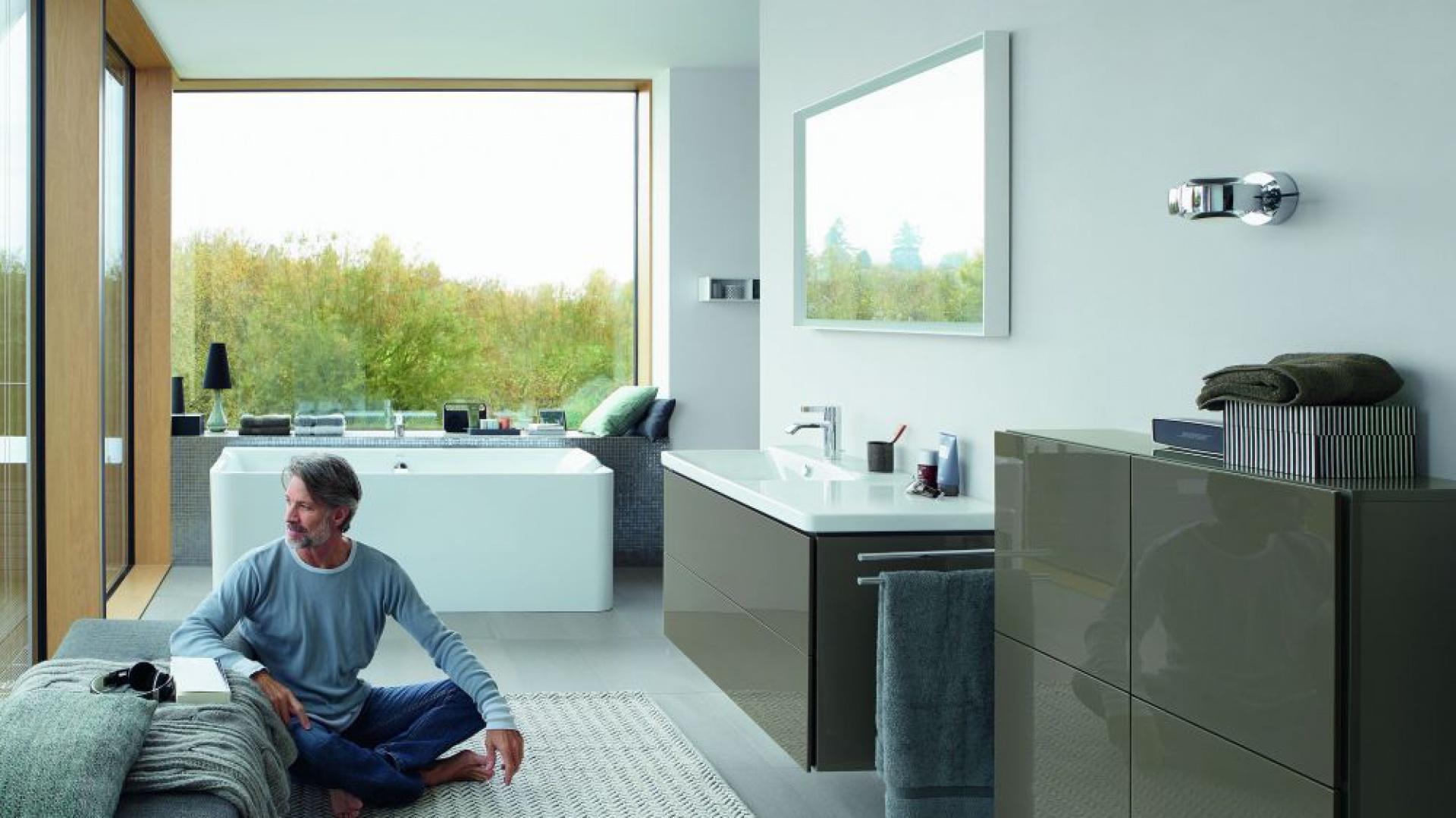 Funkcjonalna i piękna łazienka.  Seria P3 Comforts. Fot. Duravit