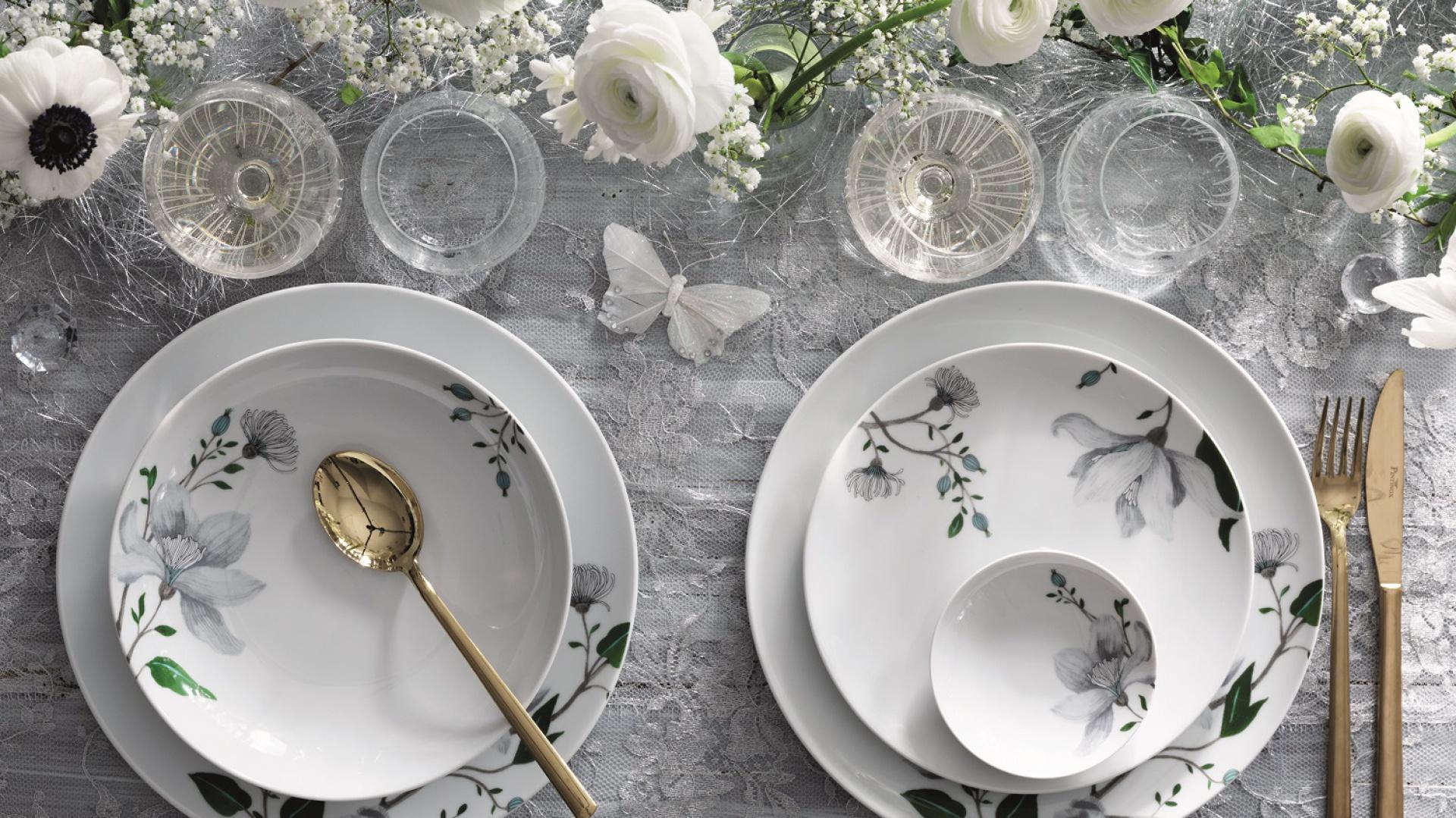 Piękna porcelana - serwis Clematis. Fot. Fyrklövern