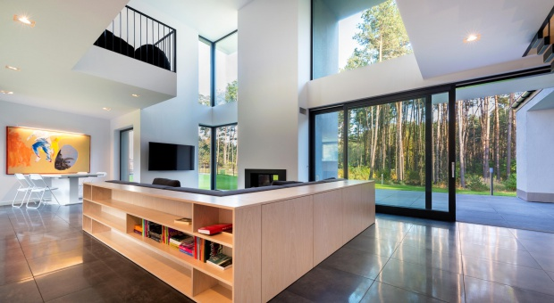 Nowoczesny dom. Top trendy okienne