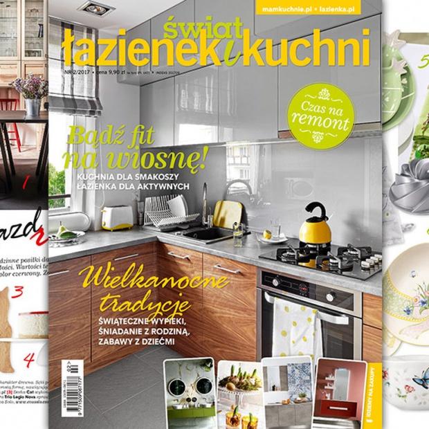 Świat Łazienek i Kuchni (2/2017) - nowy numer już w sprzedaży