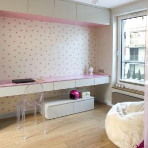 Apartament oaza kobiecości. Projekt i zdjęcia: Pracownia Projektowa KAZA