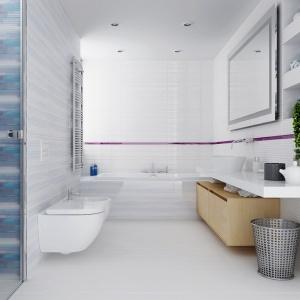 Aranżacja łazienki: wybierz niebieski. Kolekcja płytek Artistico. Fot. Opoczno