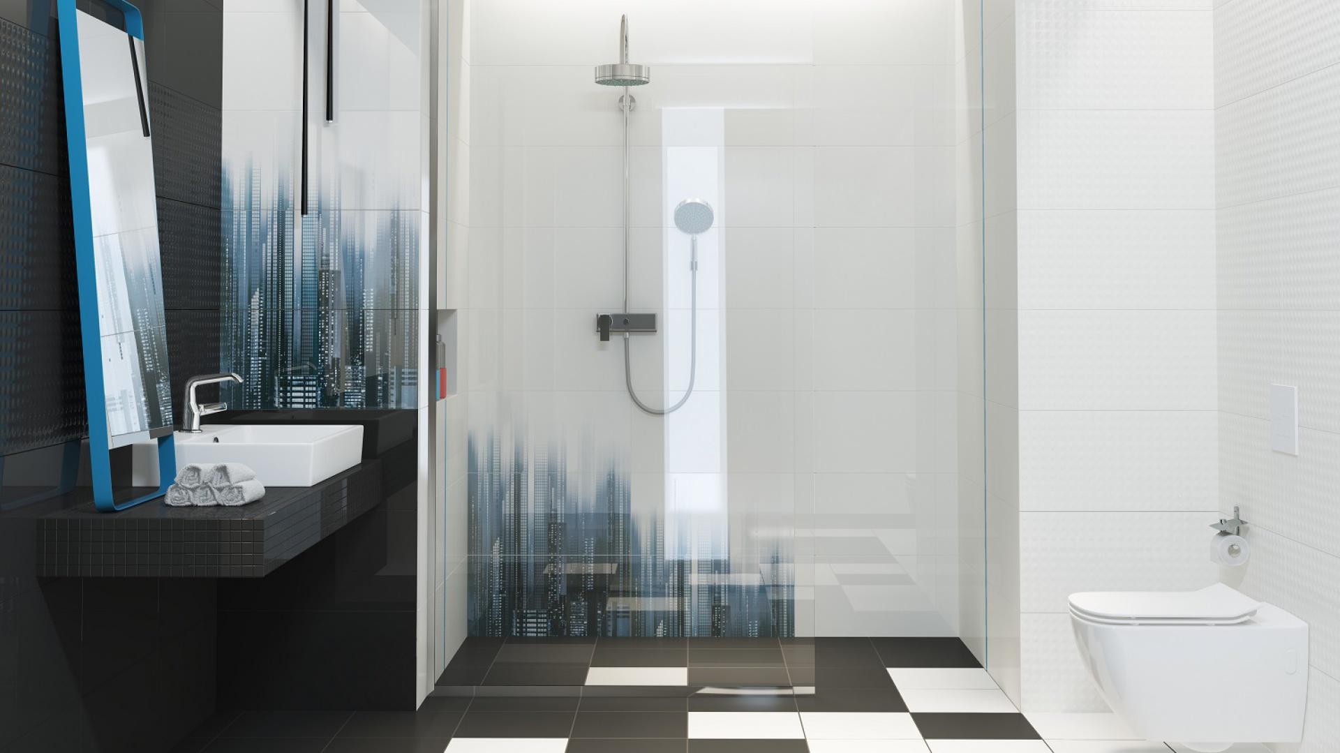 Aranżacja łazienki Postaw Na Niebieski