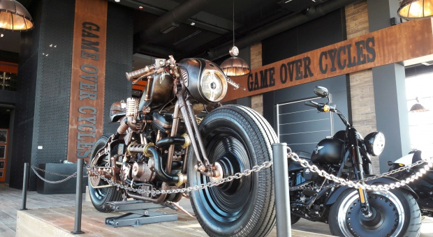 Game Over Cycles i Harley-Davidson. Nowy salon w Rzeszowie