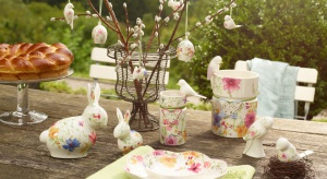 Kolekcja Mariefleur Spring już dzięki samej nazwie przeniesie nas do romantycznego ogrodu we Francji. A jej dekory i formy z powodzeniem zastąpią wiosenne bukiety na stole.